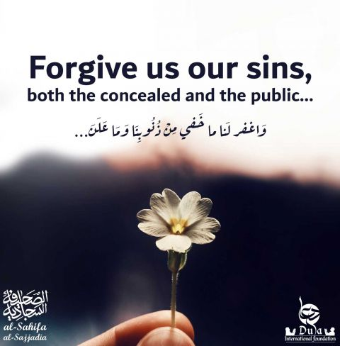 Forgive Our Sins  prayers for forgiveness